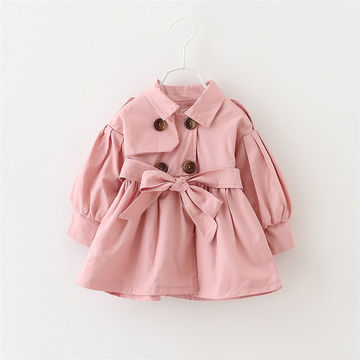 a7b2c36d7 $21.99 Newborn Baby Girl Clothes 2019 Autumn Bow Coat Infant Clothes For  Children Outwear Baby Girls Fashion Winter Clothing Baby Coats