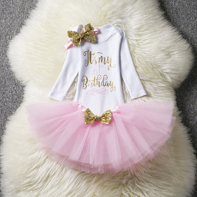 $16.88 Newborn Baby Girl Clothing Little Girl 1st Birthday Outfits ...