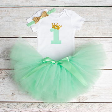 d642f8bebdd99 Newborn Baby Girl Clothing Little Girl 1st Birthday Outfits Baby  Romper+Tutu Dress+Headband Infant Party Costume Kids Clothes
