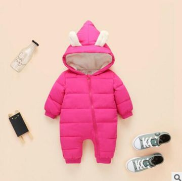 dc590f0e9692 1; 2; 3; 4; 5; 6; 7. Newborn Baby Winter Clothes Kids Warm Snowsuit Duck  Down ...