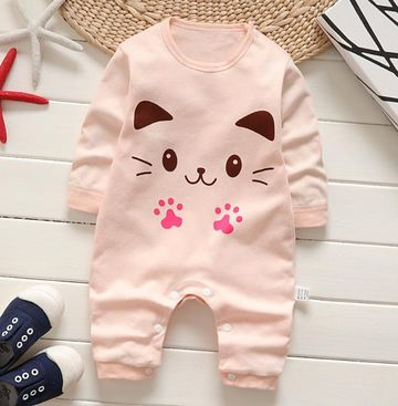 321e03684 $14.11 Newborn Baby girl Clothes cute printing Baby Rompers winter Baby  Girls boys Clothing Jumpsuits Roupas Bebes Infant Costume