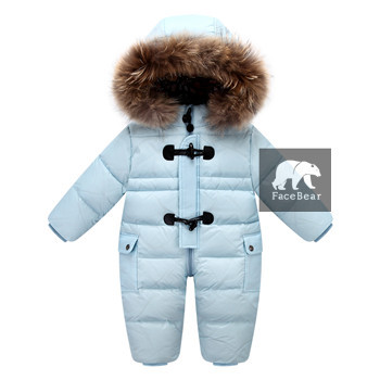 823111e93a59 NZ 74.90 Orangemom jumpsuit kids winter baby snowsuit + nature fur ...