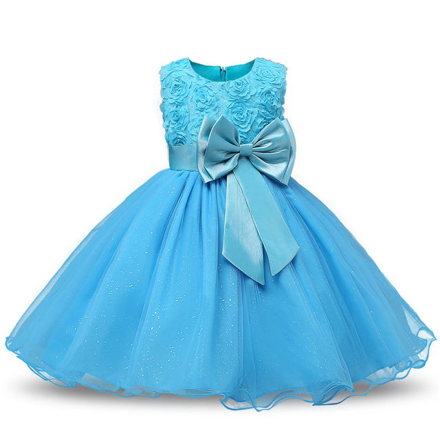 $18.98 Princess Flower Girl Dress Summer Tutu Wedding Birthday Party ...