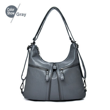 d543962f43e $36.57 RoyaDong 2019 New Big Women Bags Soft Leather Hobos Female Handbags  Fashion Shoulder Bags Ladies High Quality Design Bag