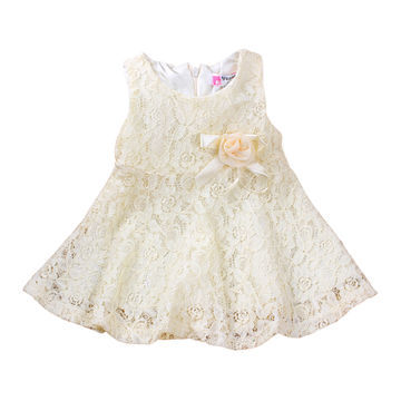 e78794f74  11.13 Summer Baby Dresses Girl Princess Dress Flower Toddler Infant ...