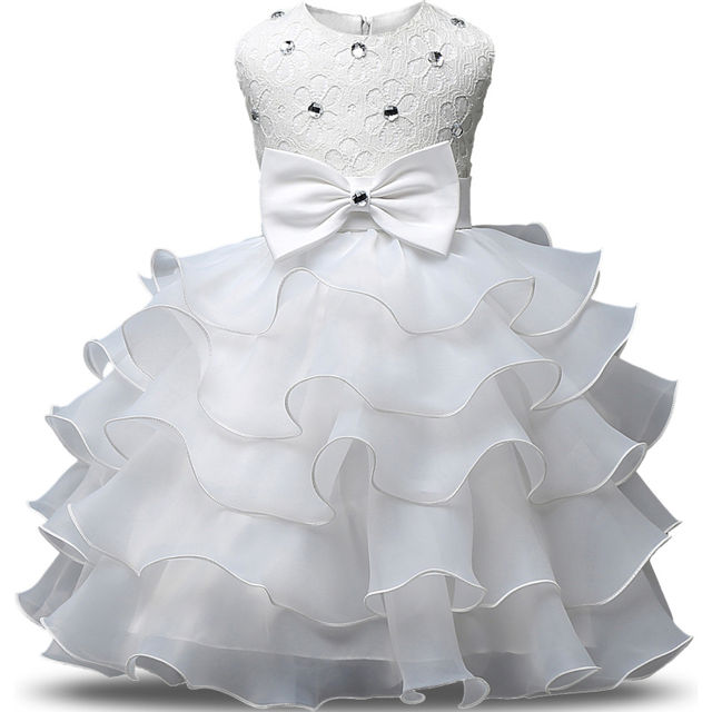 1888 Summer Flower Girl Dresses Tulle Kids Pageant Gowns