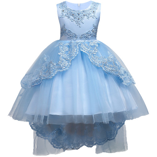 2459 Summer Kids Formal Dress For Girls Clothes Flower Pageant