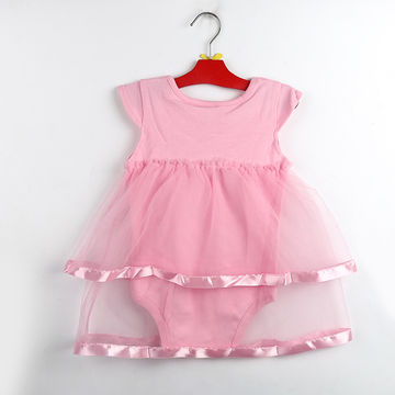 a03a0d1d5  13.61 TANGUOANT Hot Sale NewBorn Baby Dress Summer Cotton Bow Baby ...