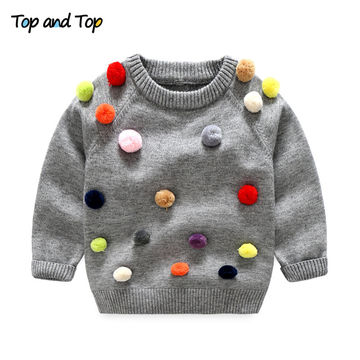 225344fdc  19.70 Top and Top Boys Girls O-neck Sweater Kids Clothes Boys ...