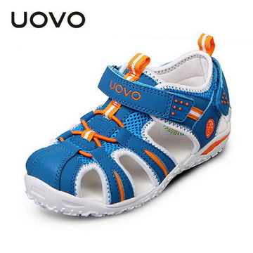 29.92 UOVO Brand 2019 Summer Beach Sandals Kids Closed Toe Toddler Sandals  Children Fashion Designer Shoes For Boys And Girls 24 -38  95b04733d4c2