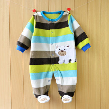 085682a9f $16.15 Unisex Baby Rompers Cartoon Animal Clothing Set Winter Girls Warm  Fleece Clothes Boys Foot Overalls Newborn Infant Jumpsuit
