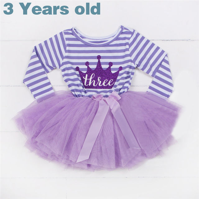 1528 Winter Baby Girl Baptism Dress Clothes For Newborn Infant 1 2