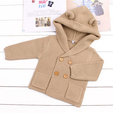 new style of 2019 enjoy lowest price huge selection of Wool Baby Boy Clothes Spring Baby Sweater Fashion Kids Clothes Infant Baby  Coat Autumn Newborn Outerwear Baby Boy Jackets