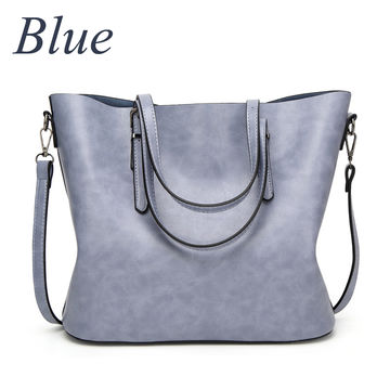 3b2643dbd4  29.58 ZMQN Women Handbags Big Tote Bags 2019 Crossbody Bags For Women  Leather Handbags Oil Wax Leather Retro Womenbag Wholesale A814