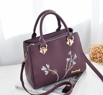 bbc126697bf  25.39 women handbag flower women shoulder bags women pu leather tote bag  ladies bags brands totes sac a main SJ004