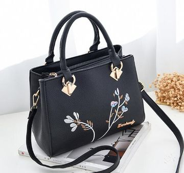 3d34754ac16 $25.39 women handbag flower women shoulder bags women pu leather tote bag  ladies bags brands totes sac a main SJ004